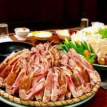 【カニすき鍋】寒い寒い冬だから…やっぱりお鍋が食べたーい!