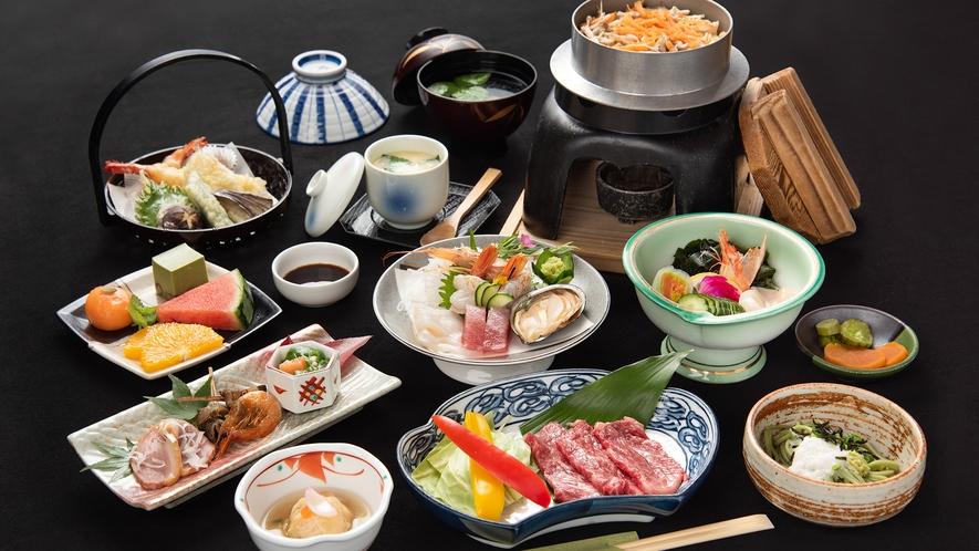 *【藤会席コース】季節の味覚をしっかり味わう本格会席