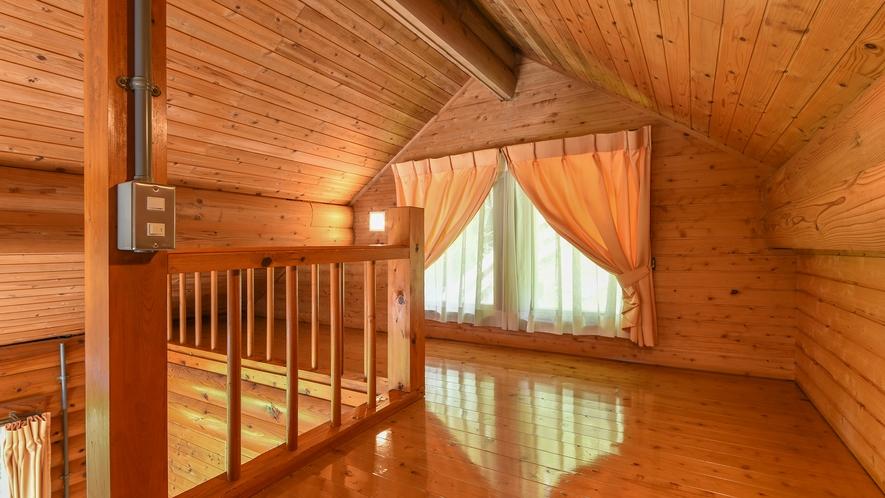 *【コテージ一例】ロフト付きで寝室を分けて過ごせます