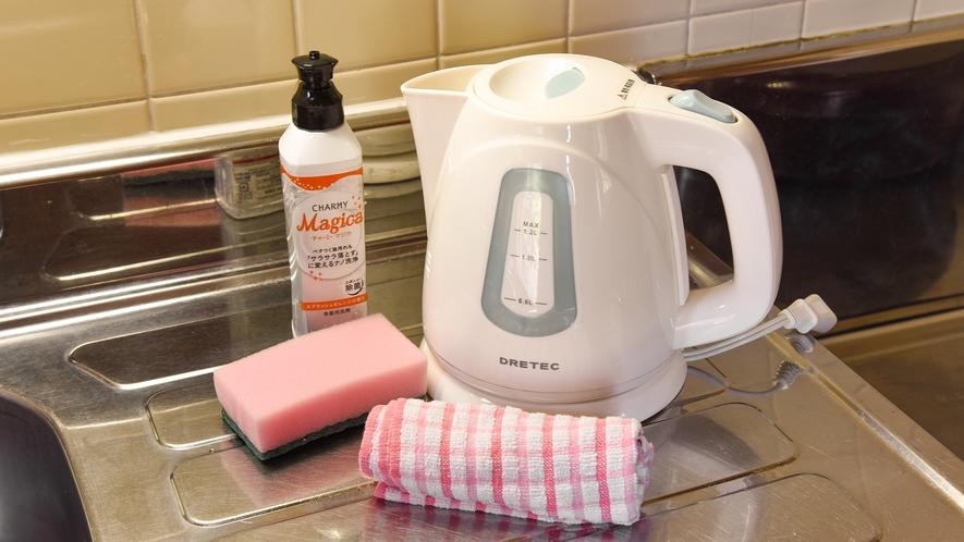 *【コテージ一例】キッチン設備も充実