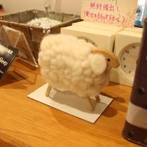 イメージキャラクターの羊
