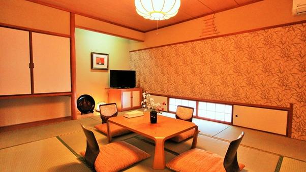 【禁煙】和室10畳 角部屋(トイレ付)