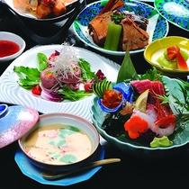 鳥取県で有名な「海陽亭」の会席料理をご用意いたします