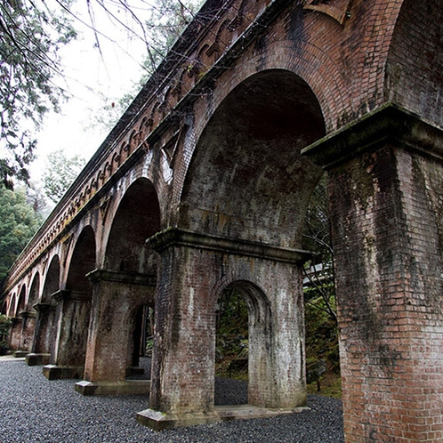 古代ローマを漂わせる南禅寺の水路閣