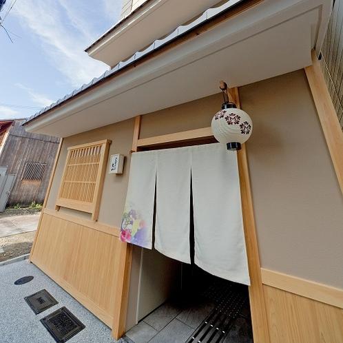 京都らしい和の雰囲気の入口