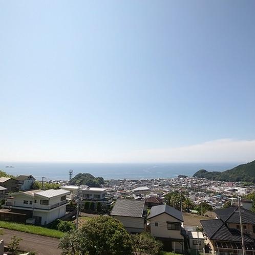 【周辺】施設からの景色☆高台なので眺め良好♪