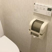 *【お部屋のトイレ】全室、快適・清潔なウォシュレットトイレ付★
