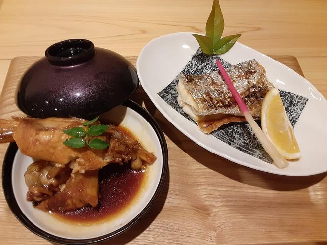 始皇帝・海ひかり チョイス地魚例