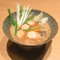 *【夕食】三重の郷土料理・旬の魚介の大敷き汁