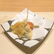 *【夕食】揚げたてが美味しい季節の天麩羅
