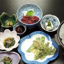*夕食一例/会津名物と地元食材を使った郷土料理をお楽しみください。