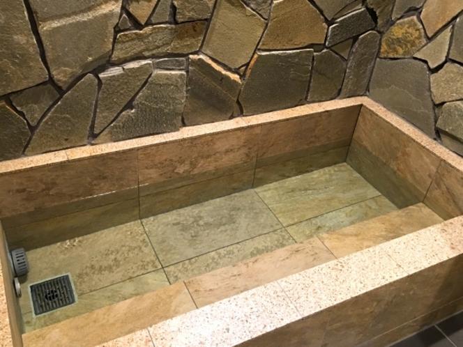 お風呂の写真です。