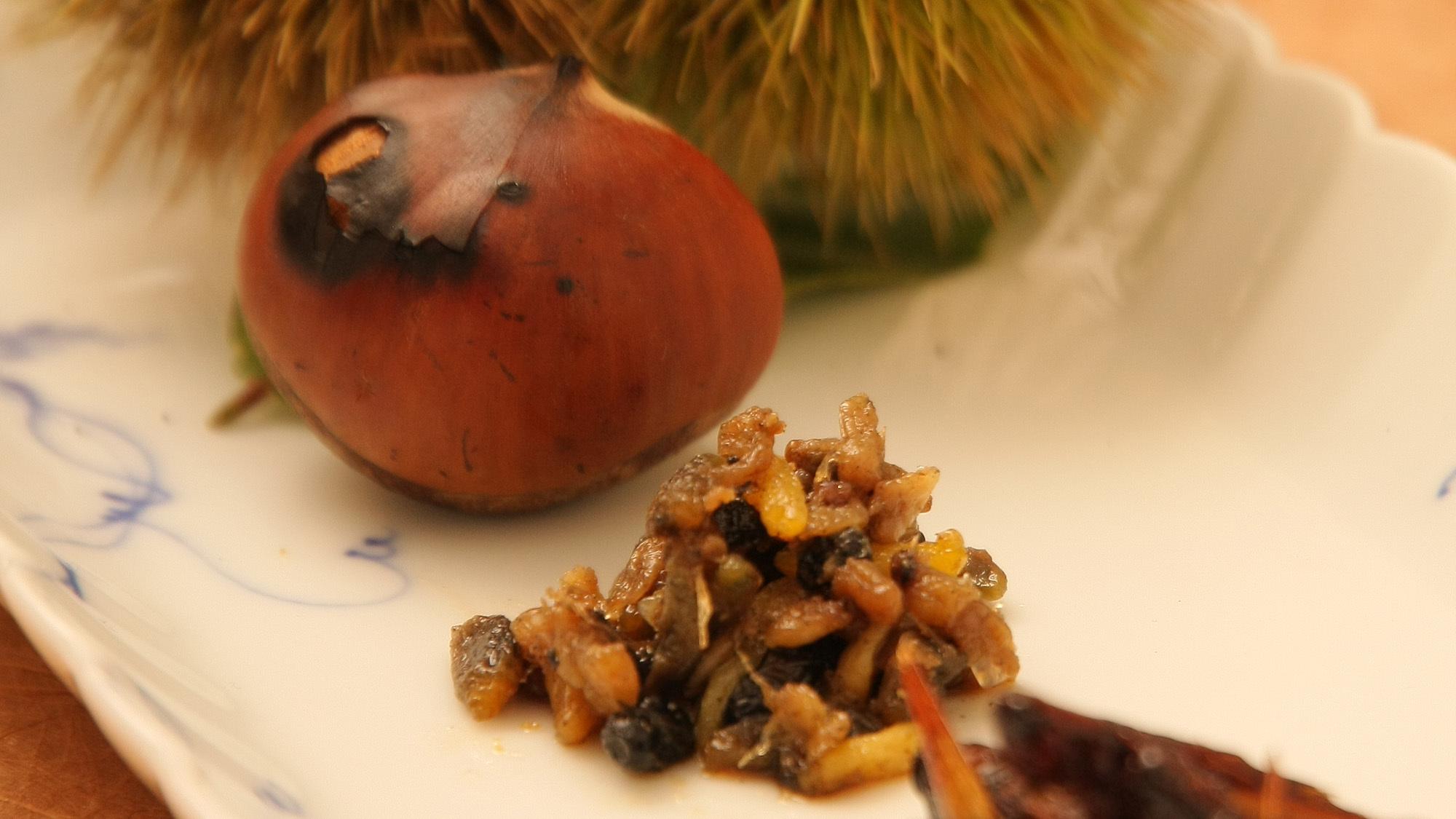 *夕食一例/その時期旬の食材を使った体にやさしいお料理。