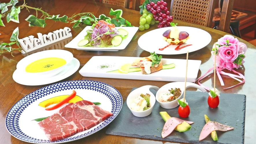 ◆スタンダードディナー◆見た目にもこだわった手作りの創作料理をお楽しみください♪