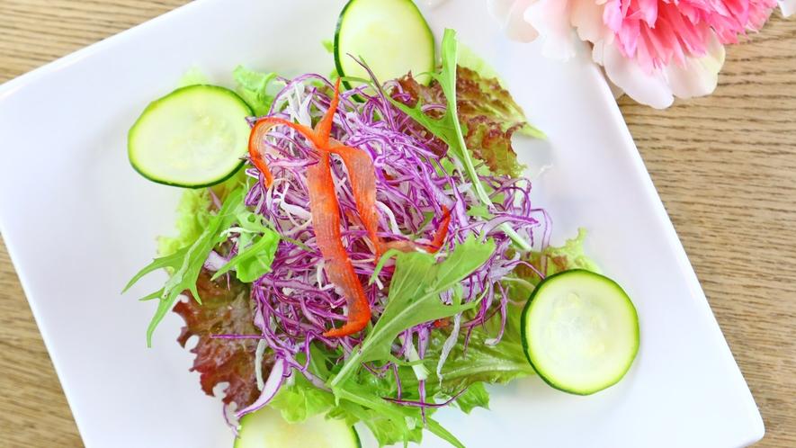 ◆新鮮ミックスサラダ~フレッシュなお野菜をたっぷりと♪