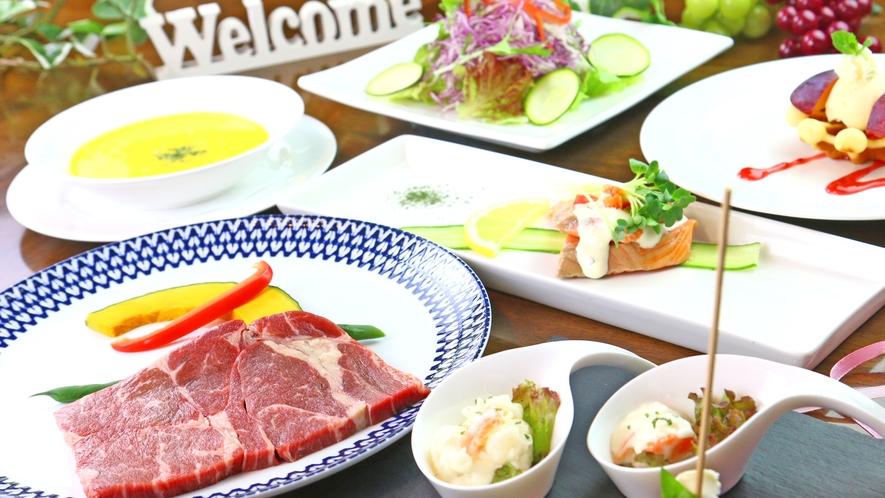 ◆ディナー◆彩り溢れるお料理の数々