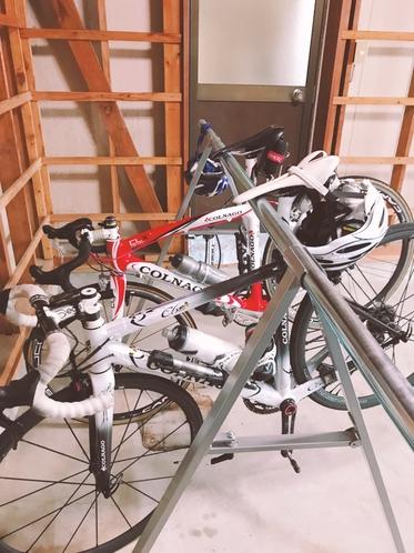 ロードバイクスタンド