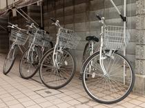 3時間までならレンタル自転車無料♪