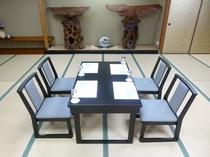 個人会席の食事場所イメージ