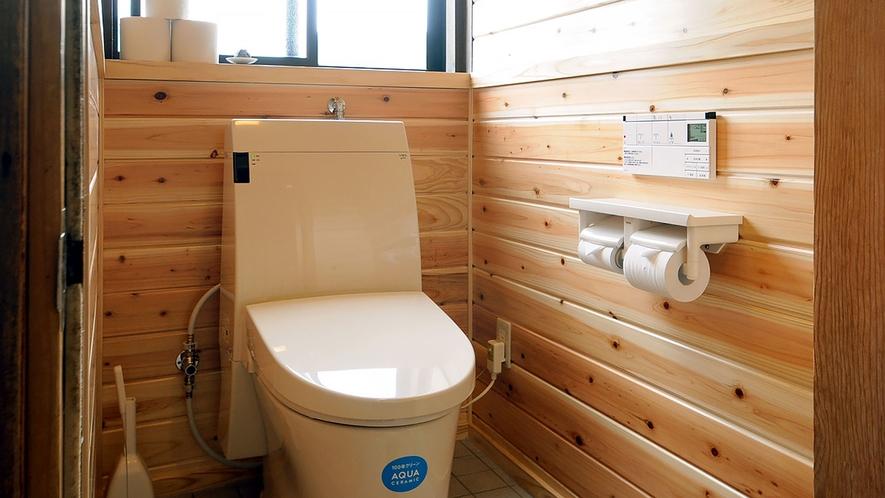 【館内】1階・2階の洋式トイレを温水洗浄機付きに改装しました。