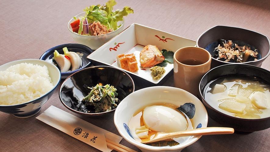 【朝食の一例】春の朝食メニューです。