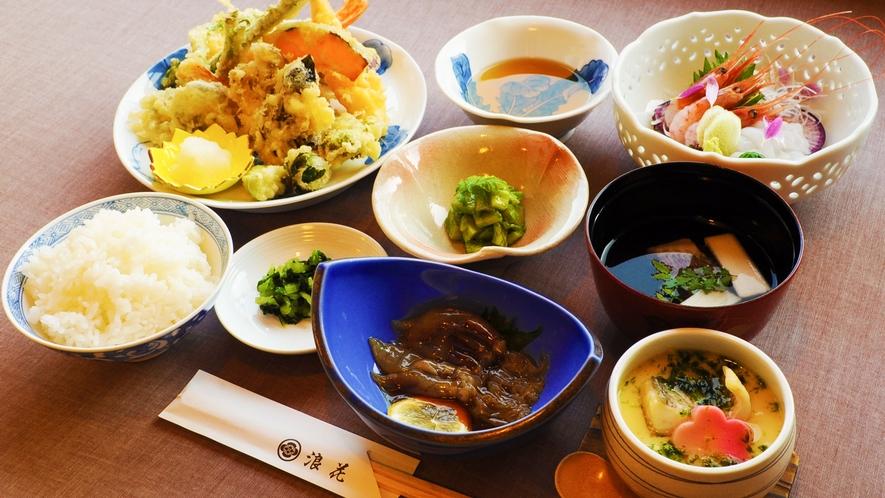【夕食の一例】春の夕食メニューです。