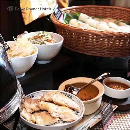1Fレストラン「ニャーヴェトナム」での朝食