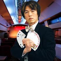 マジックショー(開催時間20:00~20:30/本館1階ロビー内にて無料!)