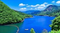 新緑の鳴子ダム