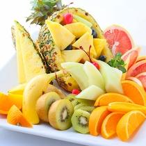 夕食フルーツ