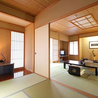 アップグレード 【禁煙】新館 特別室 和室 12.5畳+8畳