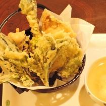 【夕食一例】山菜のてんぷら