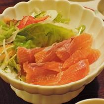 【夕食一例】自家製野菜