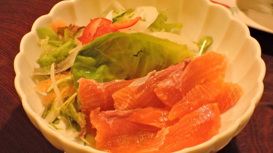 *【夕食一例】自家製野菜