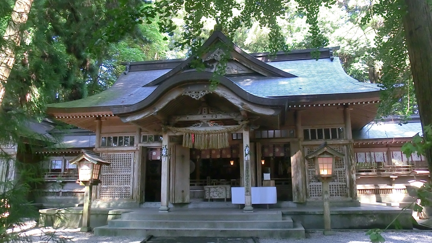 *【観光】夜神楽が開催される高千穂神社