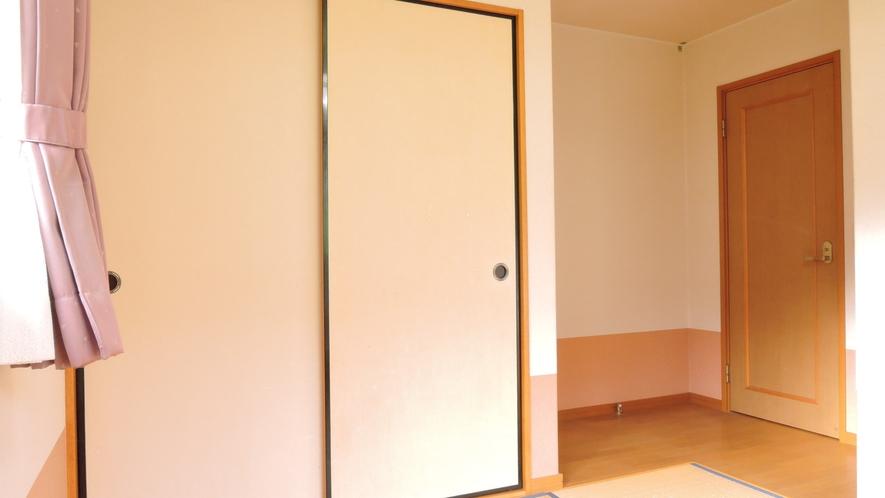 *【和室6畳一例】通常の6畳+1畳広いフローリングのタイプもあります