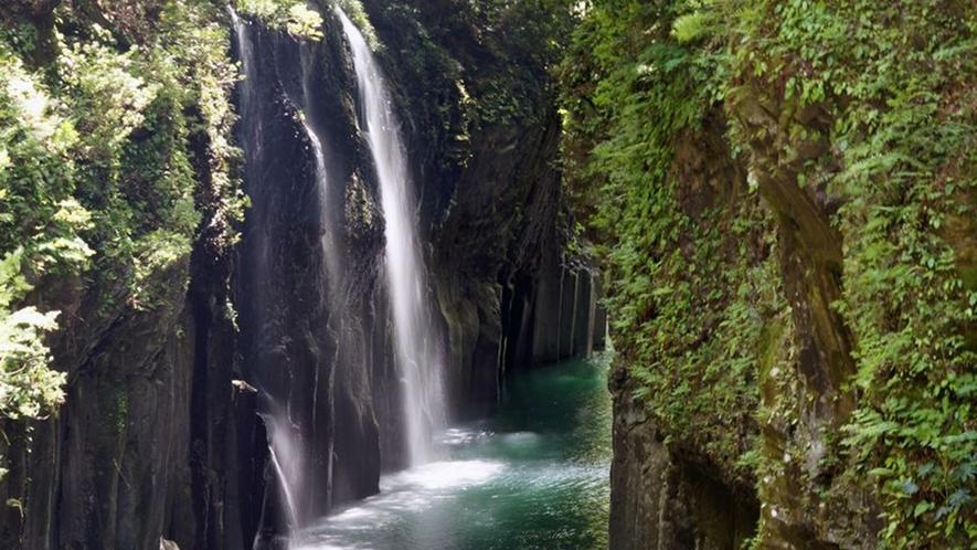 *【観光】パワースポットとしても知られる高千穂峡