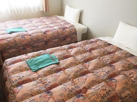 禁煙ツインルーム☆125センチ幅ベッド☆15平米