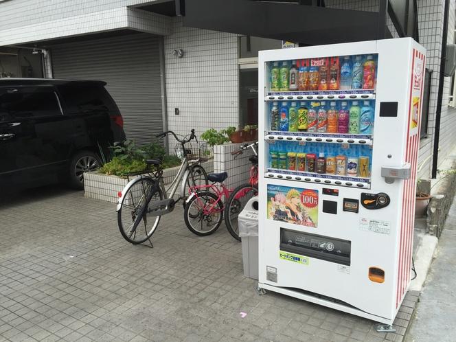 施設はチェリオの自販機が目印です。