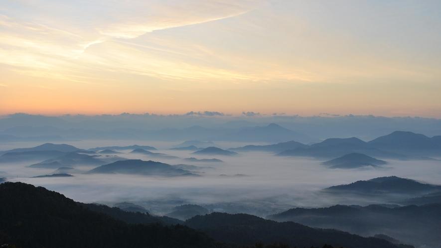 *【敷地内一例】エボシ山BBQハウスからの景色
