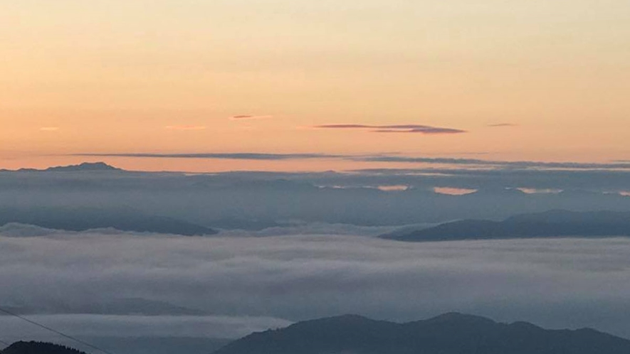 *【敷地内一例】雲海(天候により見れない場合がございます。)