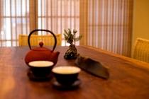客間/お茶