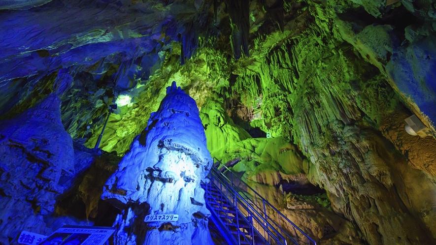 【あぶくま洞(田村市)】長い歳月をかけた自然が生み出した神秘の鍾乳洞
