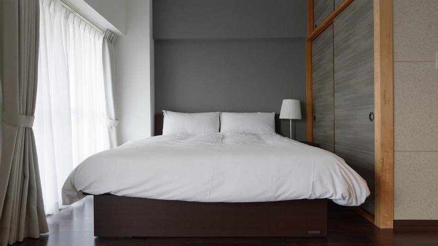 ダブルルーム ベッド