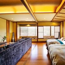 別邸■多々楽スイート-TATARA suite-■半露天風呂付(60㎡)