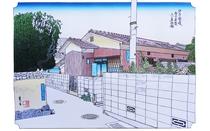 Drawing of Guesthouse Fujiya