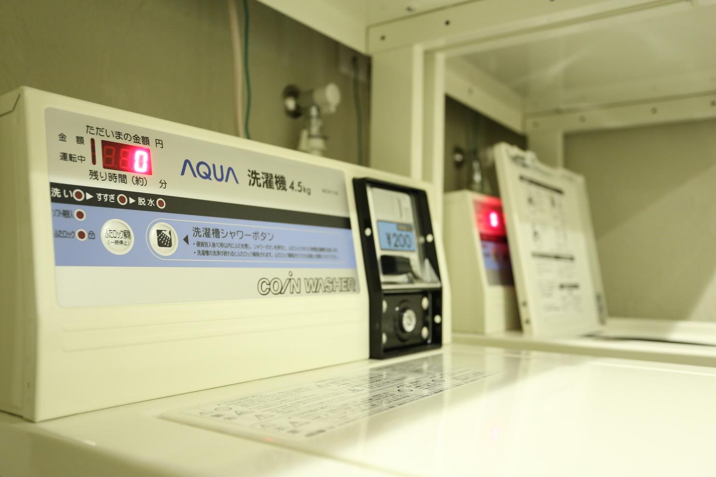 洗濯機1回200円/Landry200・1load