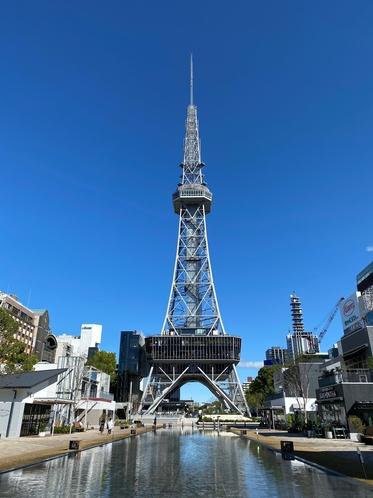 中部電力MIRAI TOWER(当ホテルから徒歩約7分)