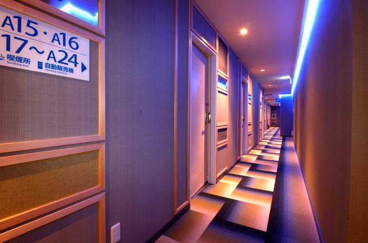 5F客室タイプ廊下