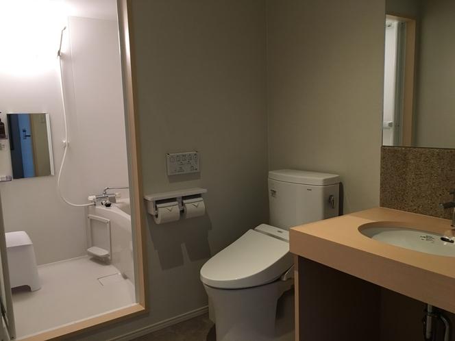 デラックスツインルーム バス・トイレ
